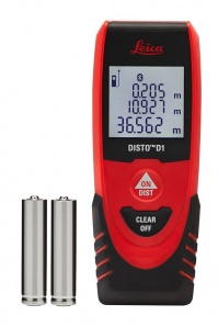 Leica Geosystems Disto D1 - Misuratore di Distanza 40 m Bluetooth